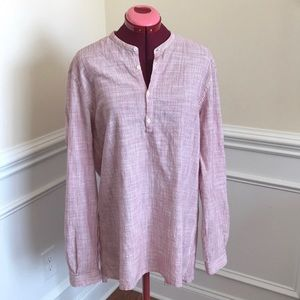 Zara Relaxed For Tunic Top. Sz L